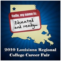 Louisiana Regional College Career Fair logo